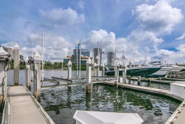 13 Crimson Harbour Marina Boat Slip, Tampa, FL 33602 (MLS #T3175396) :: The Duncan Duo Team