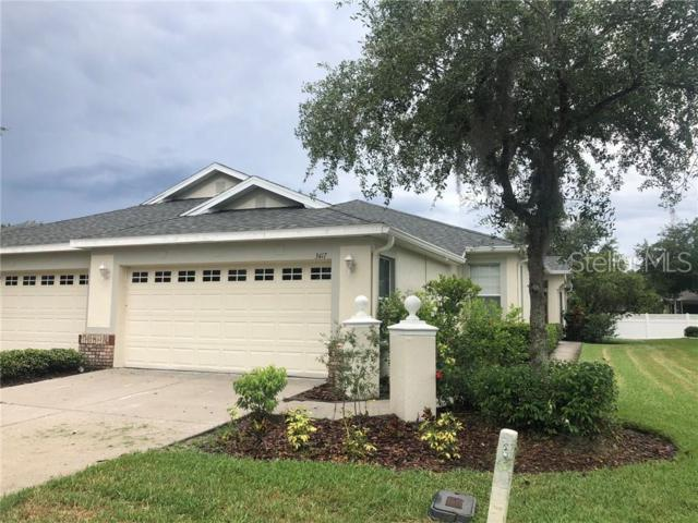 3417 Chapel Creek Circle, Wesley Chapel, FL 33544 (MLS #T3179302) :: Team Bohannon Keller Williams, Tampa Properties