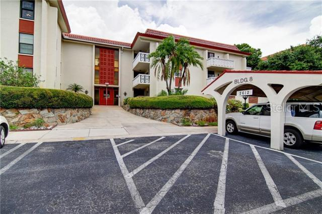 2612 Pearce Drive #306, Clearwater, FL 33764 (MLS #T3181235) :: The Edge Group at Keller Williams