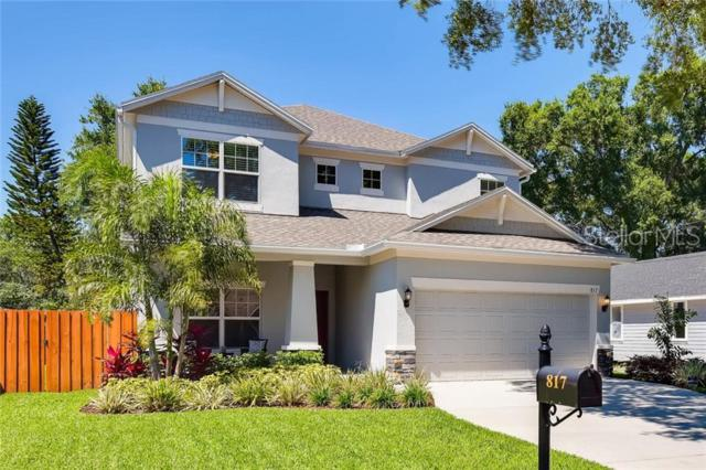 817 W Woodlawn Avenue, Tampa, FL 33603 (MLS #T3181847) :: Gate Arty & the Group - Keller Williams Realty