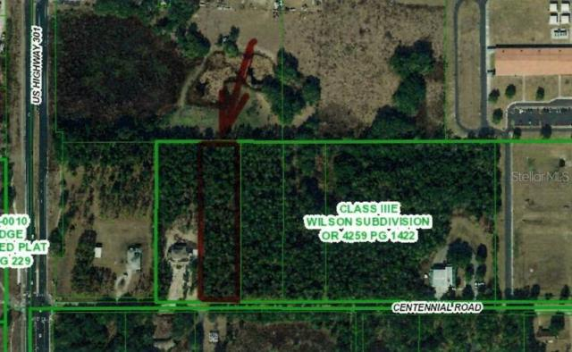 Centennial Road, Dade City, FL 33525 (MLS #T3182364) :: Dalton Wade Real Estate Group
