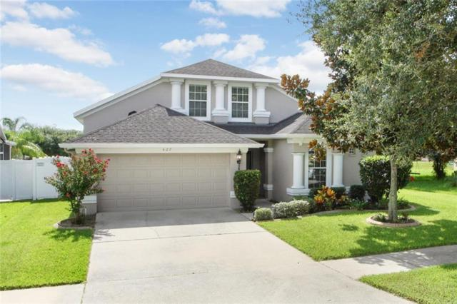 527 Dunaway Drive, Valrico, FL 33594 (MLS #T3184202) :: The Duncan Duo Team