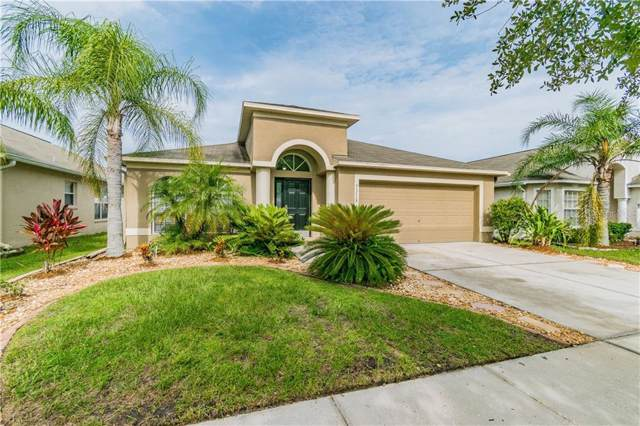 7318 Parkersburg Drive, Wesley Chapel, FL 33545 (MLS #T3186550) :: Team Bohannon Keller Williams, Tampa Properties