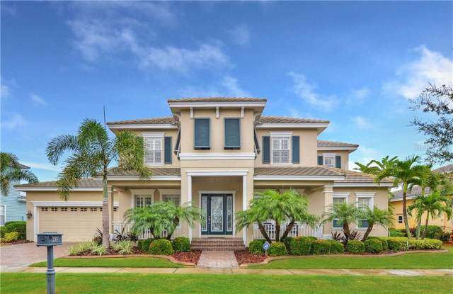 733 Manns Harbor Drive, Apollo Beach, FL 33572 (MLS #T3192525) :: Medway Realty