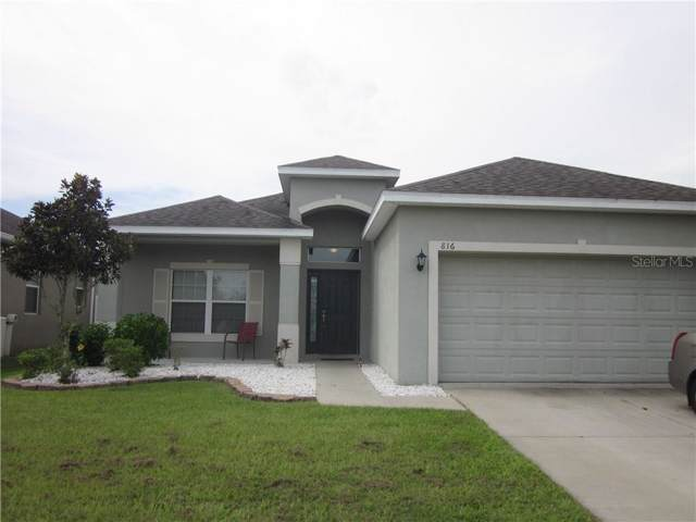 816 Krenson Woods Lane, Lakeland, FL 33813 (MLS #T3192889) :: RE/MAX Realtec Group