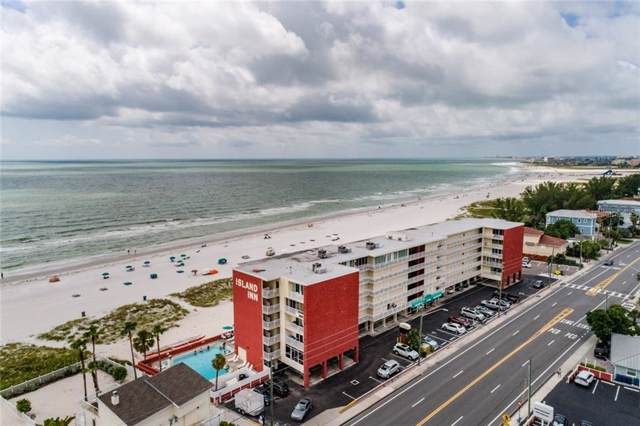 9980 Gulf Boulevard #616, Treasure Island, FL 33706 (MLS #T3193133) :: Lockhart & Walseth Team, Realtors
