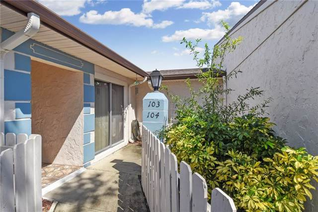 1318 Moreland Drive #104, Clearwater, FL 33764 (MLS #T3199572) :: The Price Group