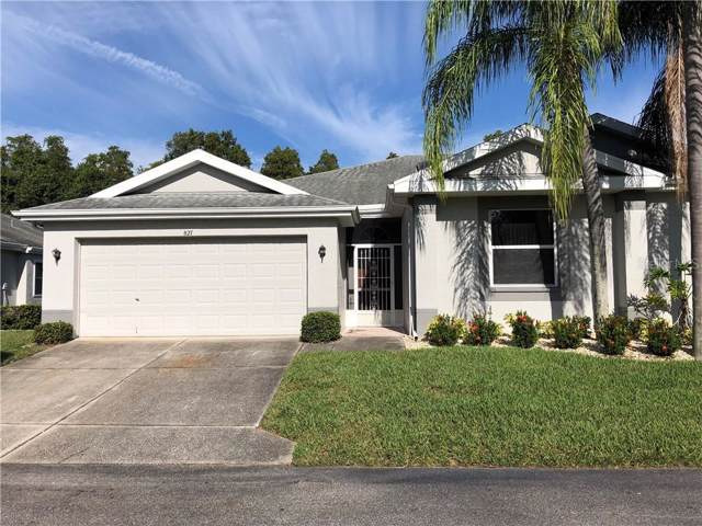 827 Manchester Woods Drive #827, Sun City Center, FL 33573 (MLS #T3204567) :: Gate Arty & the Group - Keller Williams Realty Smart