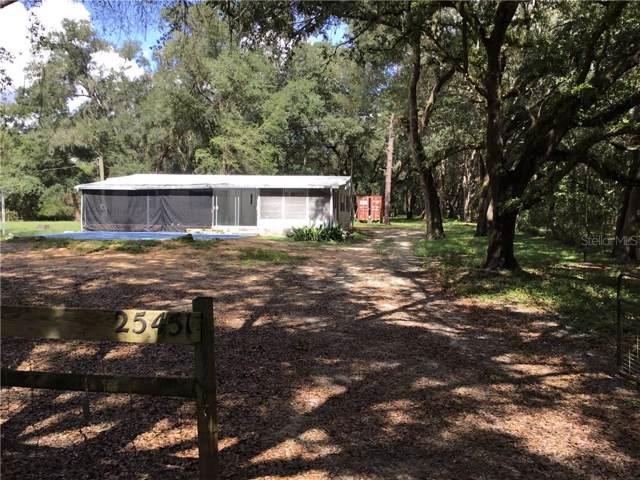 25451 Mondon Hill Road, Brooksville, FL 34601 (MLS #T3206113) :: 54 Realty