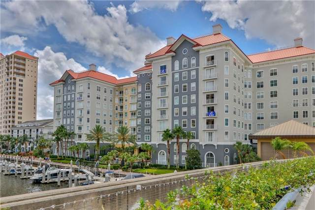 700 S Harbour Island Boulevard #114, Tampa, FL 33602 (MLS #T3222415) :: The Duncan Duo Team