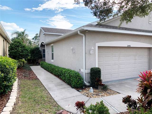 2440 Nottingham Greens Drive #91, Sun City Center, FL 33573 (MLS #T3222417) :: Cartwright Realty