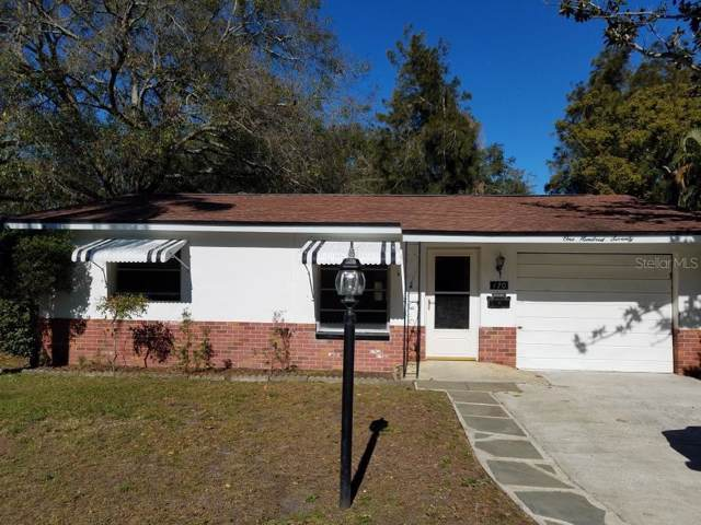 170 SE Lincoln Circle N, St Petersburg, FL 33703 (MLS #T3223256) :: Medway Realty