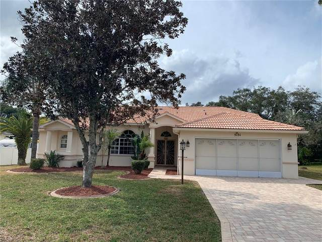 5131 Panther Drive, Spring Hill, FL 34607 (MLS #T3226238) :: Pristine Properties