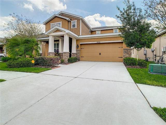 5926 Jasper Glen Drive, Lithia, FL 33547 (MLS #T3235190) :: Kendrick Realty Inc