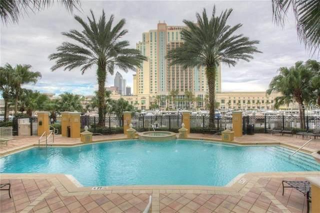 700 S Harbour Island Boulevard #824, Tampa, FL 33602 (MLS #T3235424) :: Kendrick Realty Inc