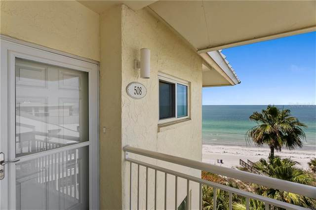 2504 Gulf Boulevard #508, Indian Rocks Beach, FL 33785 (MLS #T3236076) :: Premium Properties Real Estate Services