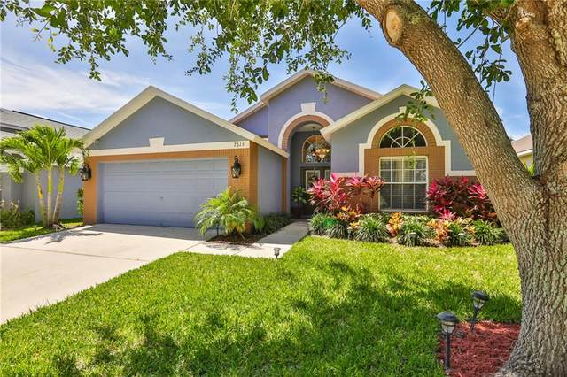 7613 Bristol Park Drive, Apollo Beach, FL 33572 (MLS #T3238423) :: Team Bohannon Keller Williams, Tampa Properties