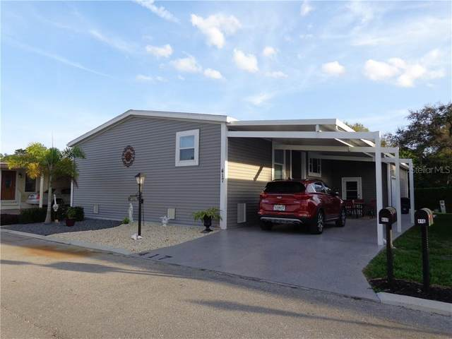 417 Snead Drive, North Fort Myers, FL 33903 (MLS #T3240736) :: Team Pepka