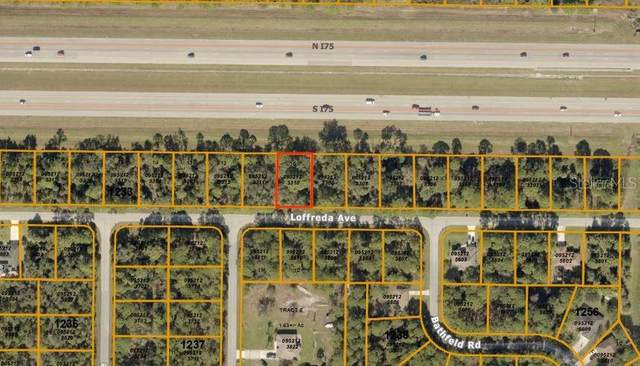 Loffreda Avenue, North Port, FL 34291 (MLS #T3241121) :: Team Buky