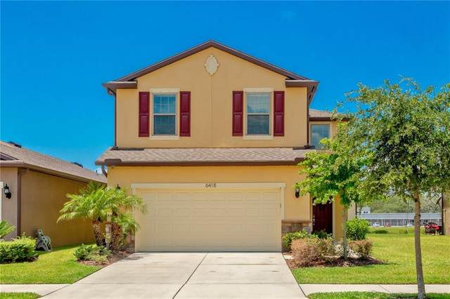 6418 Yellow Buckeye Drive, Riverview, FL 33578 (MLS #T3245391) :: The Price Group