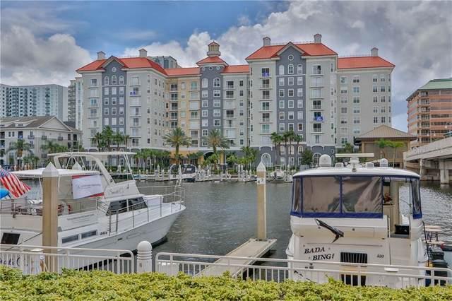 700 S Harbour Island Boulevard #702, Tampa, FL 33602 (MLS #T3253396) :: Keller Williams on the Water/Sarasota