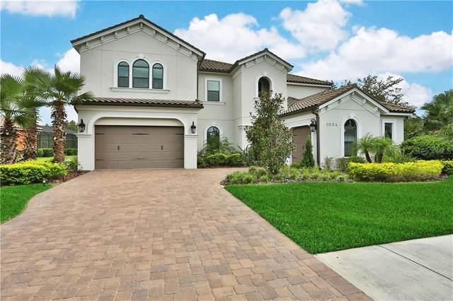 1034 Stella Vara Drive, Lutz, FL 33548 (MLS #T3263653) :: Team Bohannon Keller Williams, Tampa Properties
