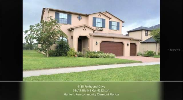4185 Foxhound Drive, Clermont, FL 34711 (MLS #T3267073) :: Bustamante Real Estate