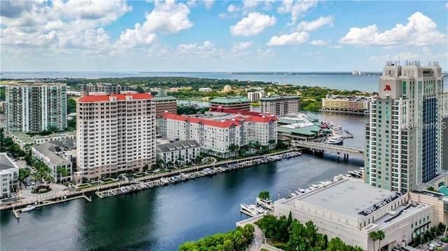700 S Harbour Island Boulevard #410, Tampa, FL 33602 (MLS #T3268112) :: Keller Williams on the Water/Sarasota