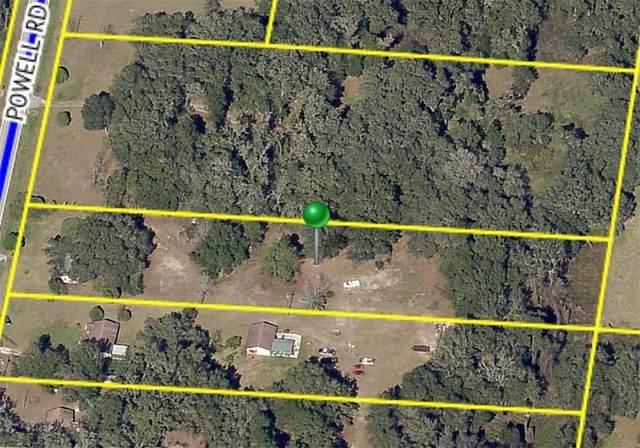 25411 Powell Road, Brooksville, FL 34602 (MLS #T3268323) :: Baird Realty Group