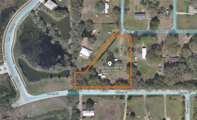 3529 Loury Drive, Zephyrhills, FL 33543 (MLS #T3272052) :: Team Bohannon Keller Williams, Tampa Properties