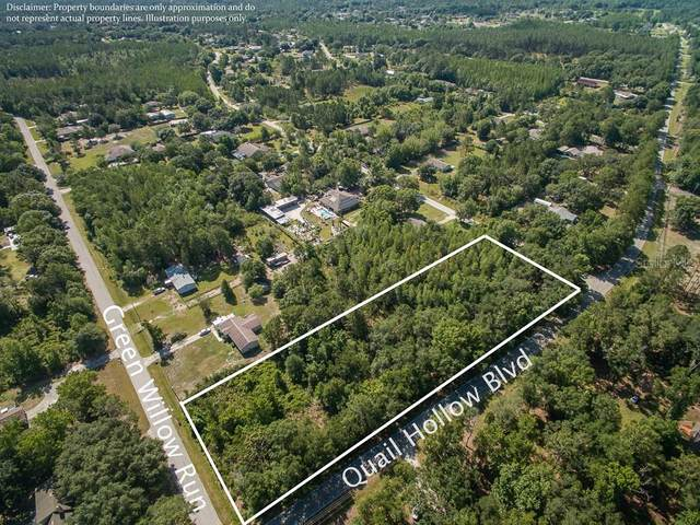 Lot 728 Quail Hollow Boulevard, Wesley Chapel, FL 33544 (MLS #T3279659) :: Griffin Group