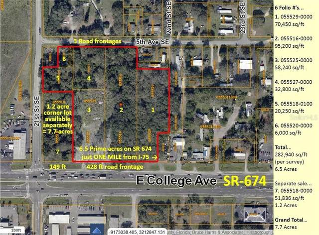 0000 E College (Sr-674) Avenue, Ruskin, FL 33570 (MLS #T3282913) :: The Lersch Group