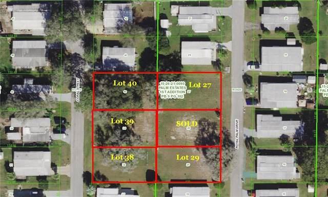 Coral St, Zephyrhills, FL 33542 (MLS #T3284622) :: Pepine Realty