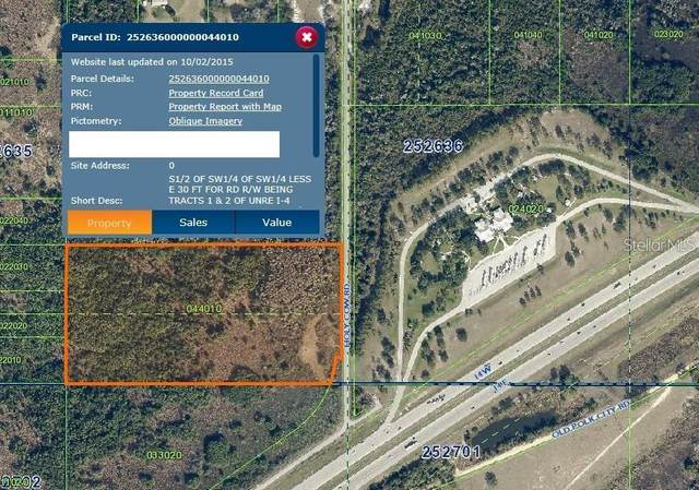 Holy Cow Rd, Polk City, FL 33868 (MLS #T3289149) :: Positive Edge Real Estate