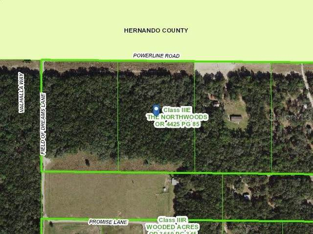 Power Line Rd, Dade City, FL 33523 (MLS #T3289881) :: Bustamante Real Estate