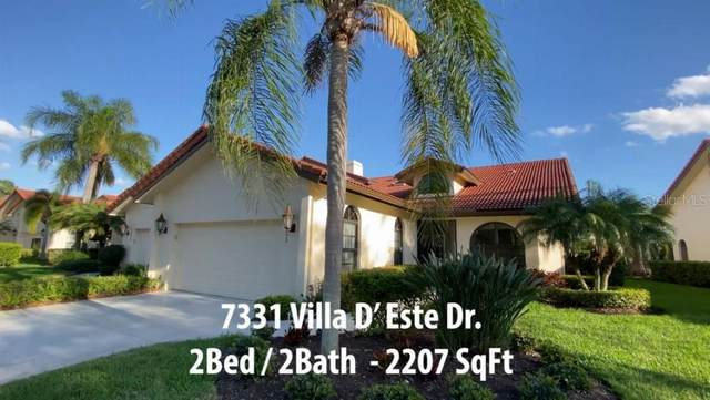 7331 Villa D Este Drive, Sarasota, FL 34238 (MLS #T3292624) :: Zarghami Group