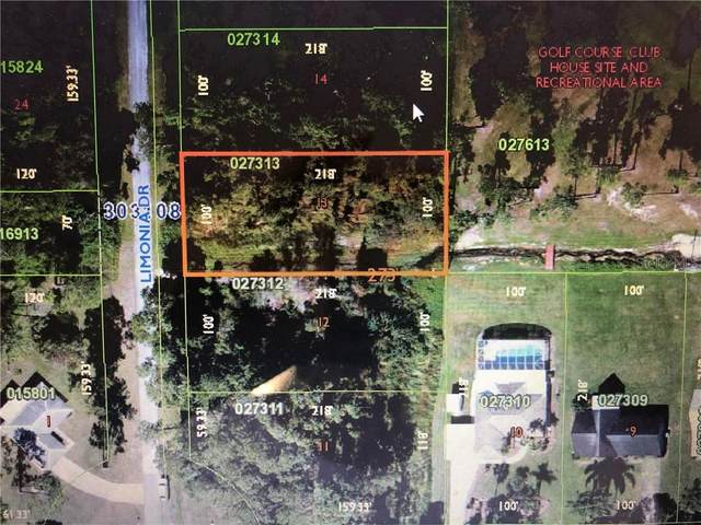 Blk 273 Lot 13 Limonia Drive, Indian Lake Estates, FL 33855 (MLS #T3300358) :: Vacasa Real Estate