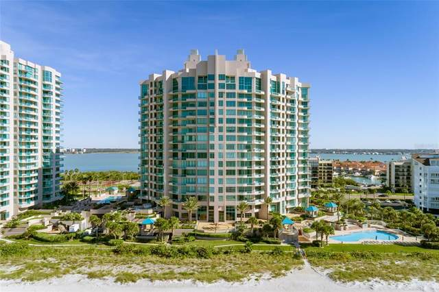 1560 Gulf Boulevard #1607, Clearwater, FL 33767 (MLS #T3304137) :: Medway Realty