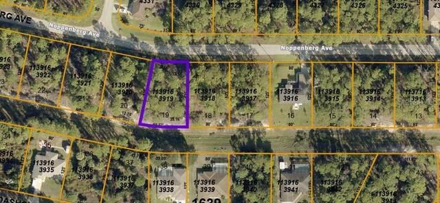 Noppenberg Avenue, North Port, FL 34288 (MLS #T3306043) :: The Lersch Group