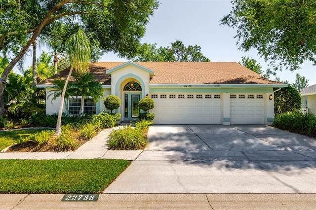 22738 Magnolia Trace Boulevard, Lutz, FL 33549 (MLS #T3306623) :: The Nathan Bangs Group