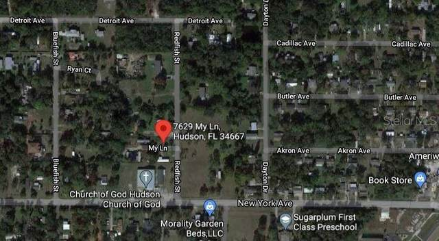 7629 My Lane, Hudson, FL 34667 (MLS #T3311214) :: Kelli and Audrey at RE/MAX Tropical Sands
