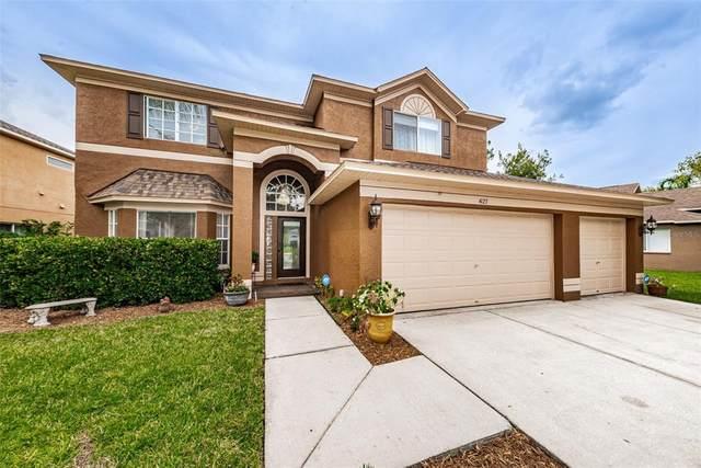 4123 Harbor Lake Drive, Lutz, FL 33558 (MLS #T3313192) :: Globalwide Realty