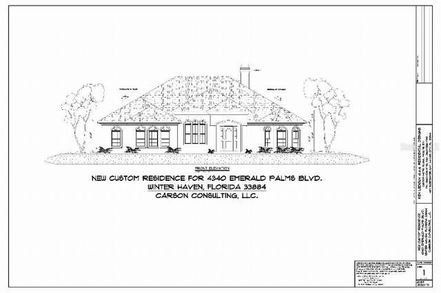 4340 Emerald Palms Boulevard, Winter Haven, FL 33884 (MLS #T3318838) :: Everlane Realty