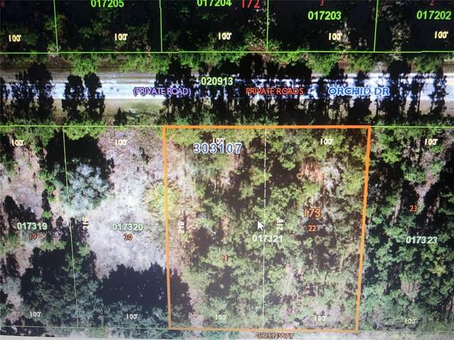 Blk173 Lt21-22 Orchid Drive, Indian Lake Estates, FL 33855 (MLS #T3321373) :: Griffin Group