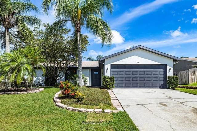 552 Hammock Drive, Palm Harbor, FL 34683 (MLS #T3330053) :: Southern Associates Realty LLC