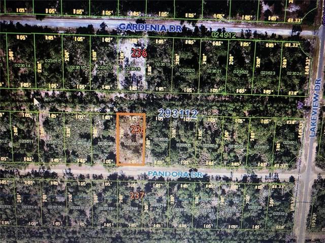 Pandora Drive, Indian Lake Estates, FL 33855 (MLS #T3330223) :: Sarasota Gulf Coast Realtors