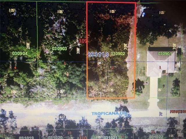 1104 Tropicana Drive, Indian Lake Estates, FL 33855 (MLS #T3330648) :: Everlane Realty