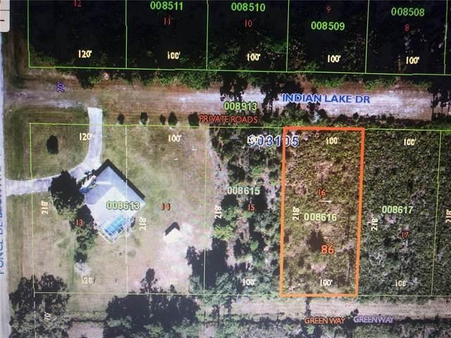 317 Indian Lake Drive, Indian Lake Estates, FL 33855 (MLS #T3330674) :: GO Realty