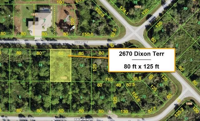 2670 Dixon Terrace, Port Charlotte, FL 33981 (MLS #T3334329) :: Delgado Home Team at Keller Williams