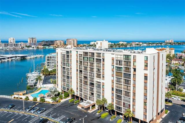 255 Dolphin Point #605, Clearwater, FL 33767 (MLS #T3335811) :: Griffin Group